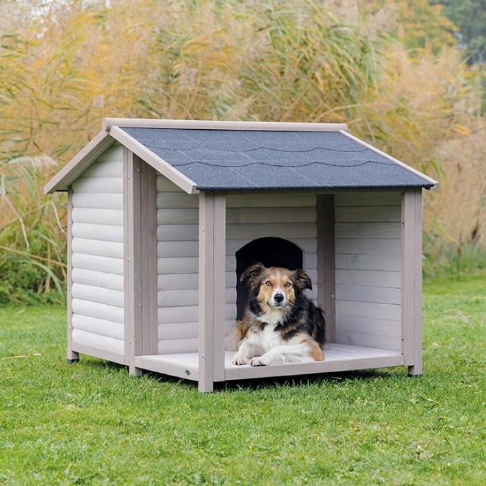 niche pour chien terrasse 3
