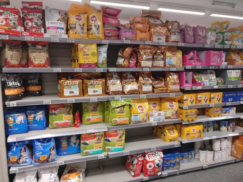 dog diet supermarket