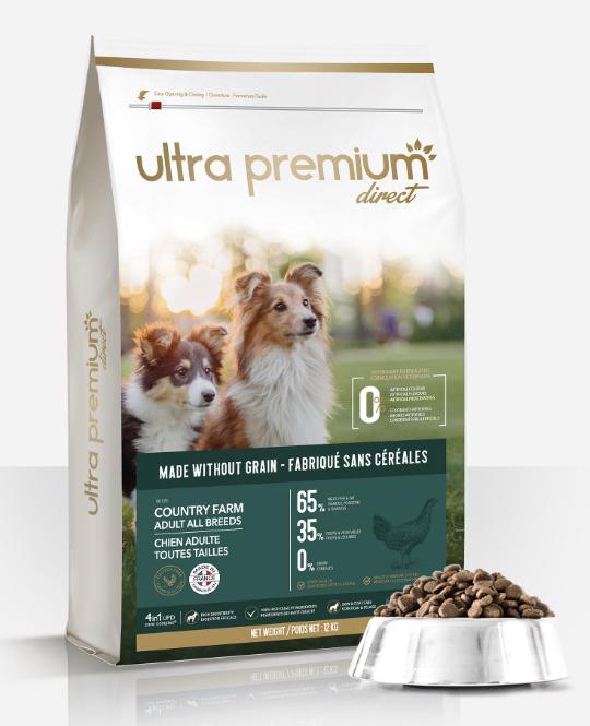 ultra premium direct comparatif croquettes chien