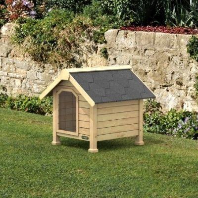 niche en bois chalet cadeau noel chien