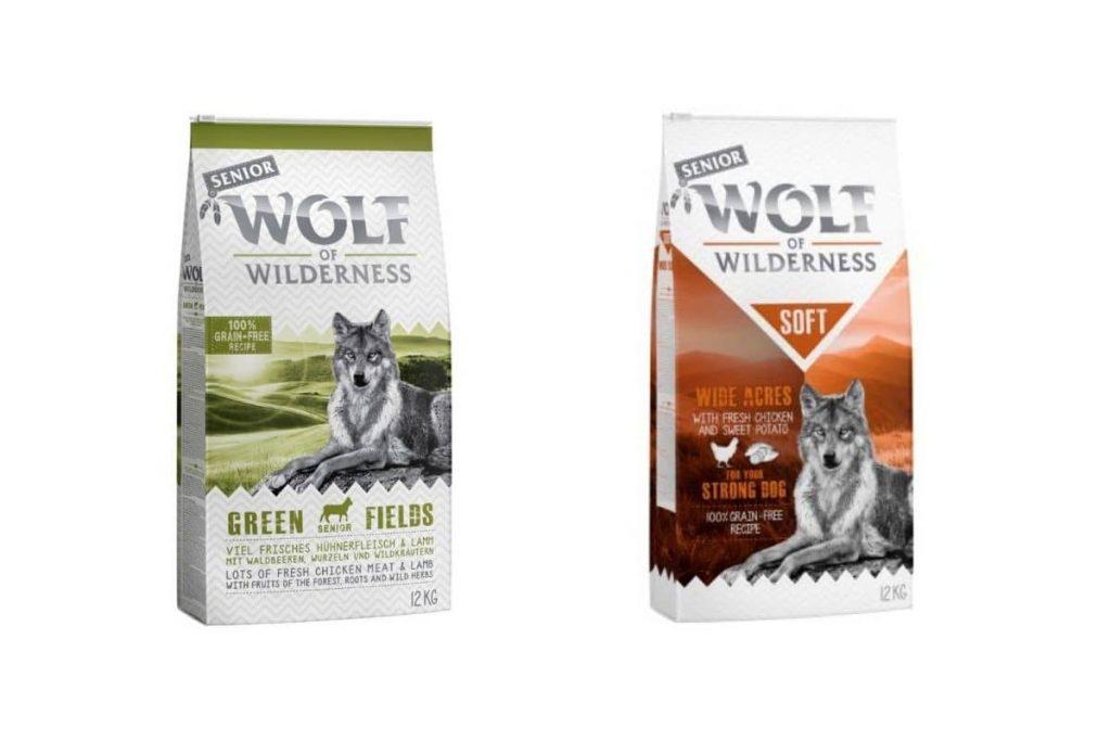 senior wolf wilderness