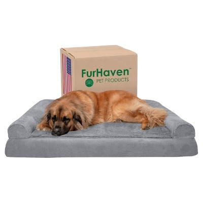 furhaven bed anxious dog