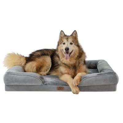 bedsure orthopedic dog bed great dane